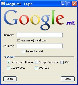 Google.mE: Todos los servicios de Google en una sola aplicación