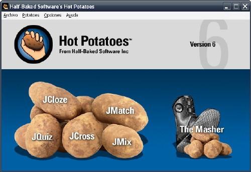 Hot Potatoes: Utilidades para creación de exámenes y ejercicios