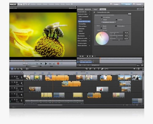 MAGIX Video Deluxe MX: Convierte vídeos caseros en atractivas películas