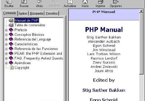Manual de PHP: Manual buenazo para consultar cualquier duda de PHP