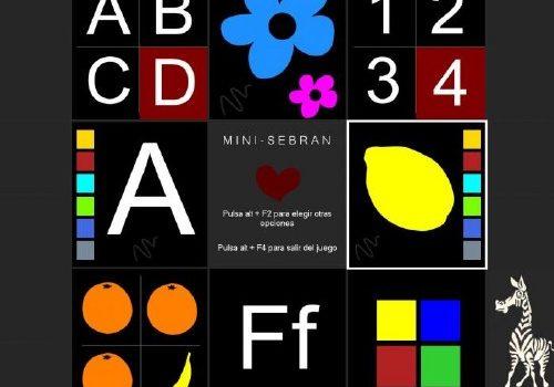 Minisebran: Pack de juegos y ejercicios para niños de 2 a 6 años