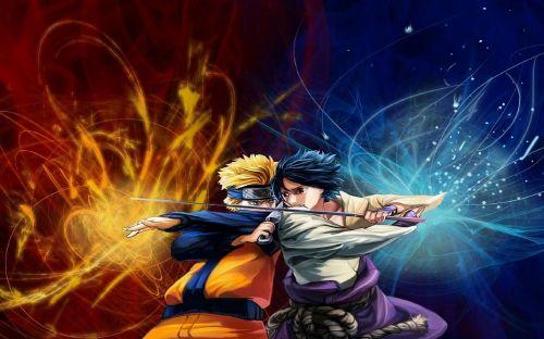 Naruto vs Sasuke: Naruto en una pelea buenaza en tu celular