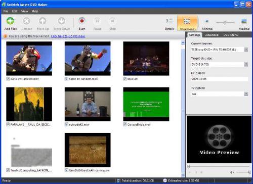 Sothink Movie DVD Maker: Pasa todos tus videos a DVD fácil