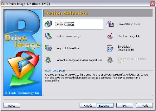 R-Drive Image: Has copias de seguridad perfectas
