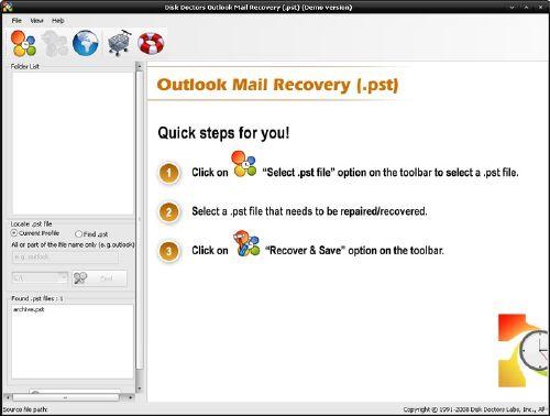 Recupera los correos perdidos de Outlook