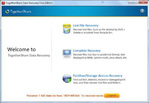Recupera tus archivos perdidos o eliminados en un instante