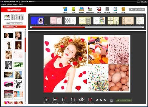 SnappyBook: Diseña álbumes buenazos fotográficos de alta calidad