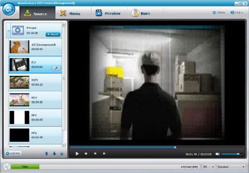 Wondershare DVD Creator: Tus fotos y vídeos a DVD como en el cine