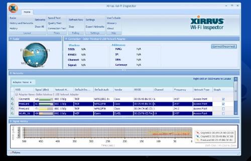 Xirrus Wi-Fi Inspector: El radar para encontrar conexiones WiFi en un dos por tres