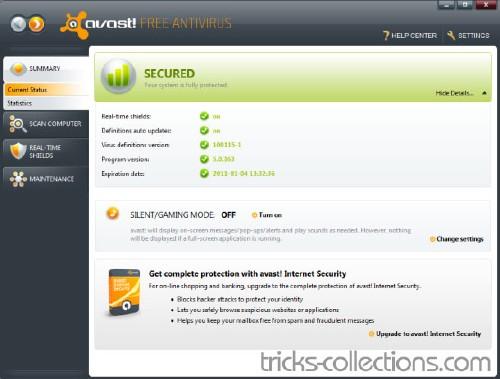 avast! Free Antivirus: Baja este completo antivirus en su última versión