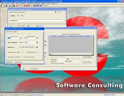 SCGestion: Programa para facturación, contabilidad y gestión