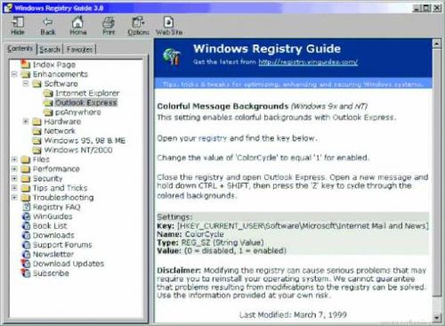 Windows Registry Guide: Conoce todo los trucos del registro del Windows