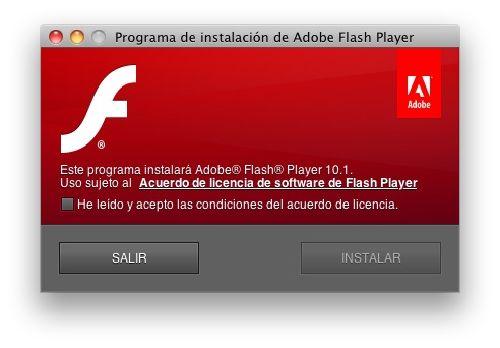 Adobe Flash Player: Bajar esta última versión al mes de octubre 2013