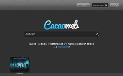 Cacaoweb: Buscador de vídeos sin límites