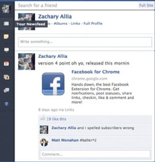 Facebook for Chrome: La mejor de red social en tu navegador de Google