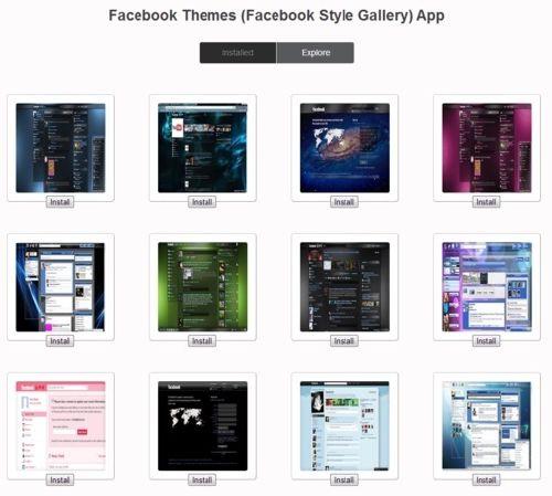 Cientos de temas para tu perfil de Facebook