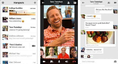 Hangouts: El chat de Google sin entrar a tu Gmail y Google+
