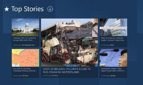 News360 para Windows 8: Lector de noticias fácil a tu alcance