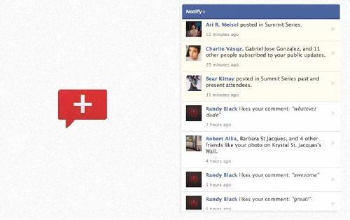 Notify+: Facebook en Google Chrome y sus notificaciones
