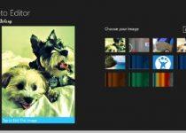 Photo Editor para Windows 8: Editor de fotos para pantallas táctiles