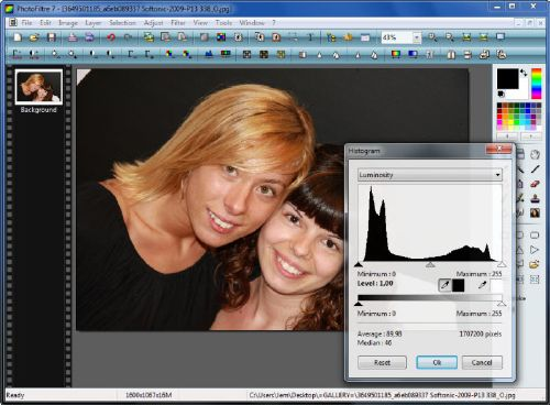 PhotoFiltre: Programa buenazo para editores gráficos profesionales