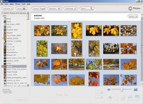Picasa Editor de fotos de Google Última versión
