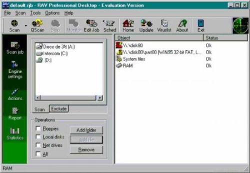 RAV AntiVirus Desktop: Antivirus que elimina más de 44.000 virus