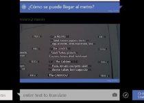 Herramienta que traduce en tiempo real usando tu web cam