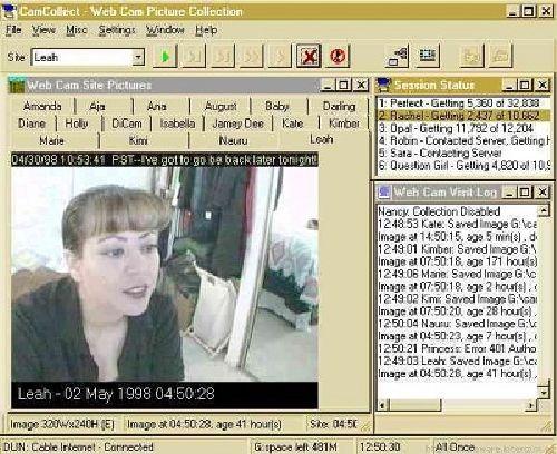 CamCollect: Herramienta que recopila imágenes de Webcams