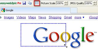 EasyWeb2Pic: Copia páginas web enteras en formato imagen