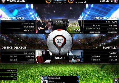 FX Fútbol 2.0: Buenazo simulador de fútbol