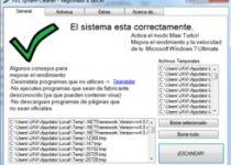 FXS PC Cleaner: Borra archivos temporales, repara el registro y escanea virus