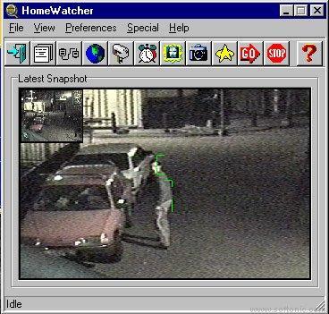 HomeWatcher: Controla una cámara Web sensible al movimiento