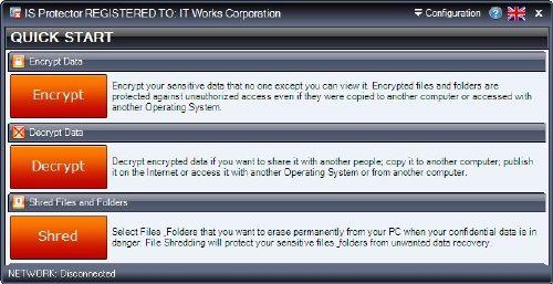 IS Protector: Buenazo codificador automático de archivos personales