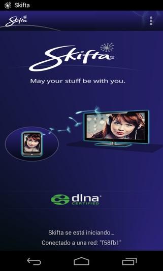 Skifta Guarda películas en tu pc desde tu tablet