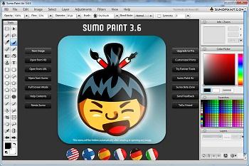 Sumo Paint Air: Un genial editor de fotos online en tu escritorio
