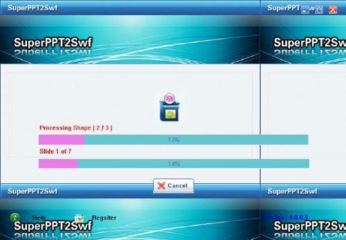 SuperPPT2Swf: Convierte tus presentaciones Powerpoint en animaciones Flash
