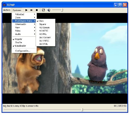 TCPMP: Reproductor de vídeo buenazo para equipos con poco recursos