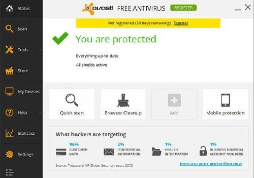 avast! Free Antivirus 2014: Descarga la última versión al mes de diciembre 2013