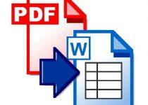 Convierte con facilidad archivos PDF a formato Word