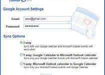 Google Calendar Sync: Sincroniza el calendario de Outlook con Google Calendar