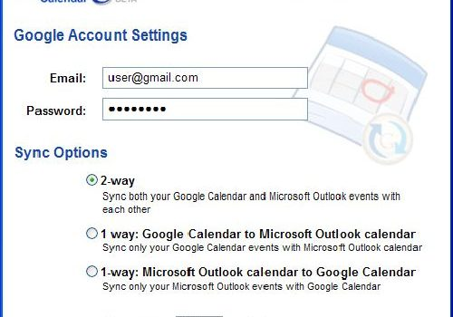Google Calendar Sync: Sincroniza el calendario de Outlook con Google Calendar