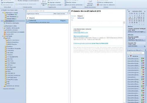 Microsoft Outlook: Baja la última versión de este gestor de correos