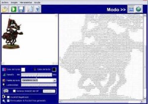 Multi Ascii Art: Excelente y buenazo conversor de imágenes a dibujos ASCII