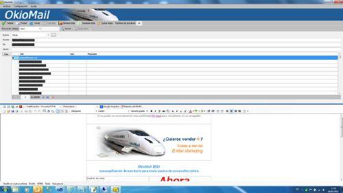 OkioMail 2013: Gestión completa de e-mail marketing Analizador