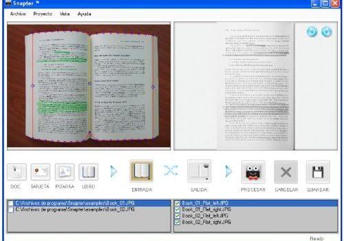 Snapter: Convierto tus fotos como si fuera un libro