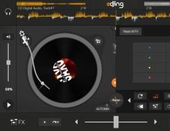 Aplicación buenaza para hacer mezclas como un DJ