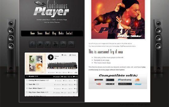 plantillas wordpress musica gratis