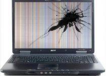 Como reparar la pantalla rota de una laptop