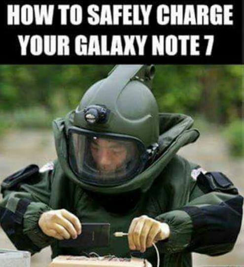 galaxy note explosivos